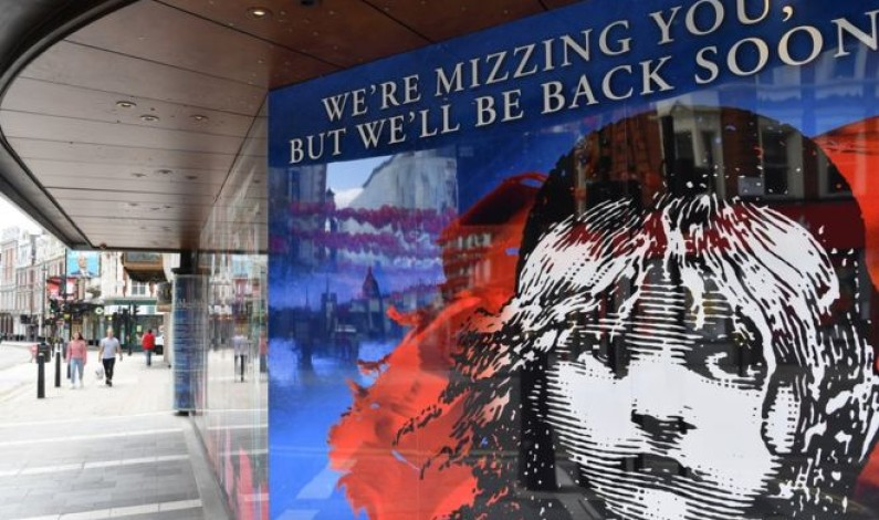 Les Miserables and Hamilton among West End shows off until 2021