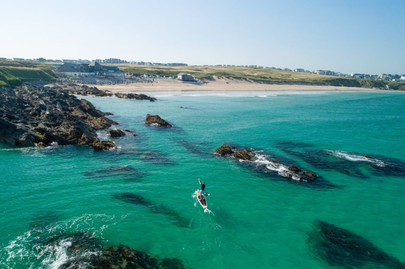 The perfect post-lockdown activity: paddleboarding in Cornwall