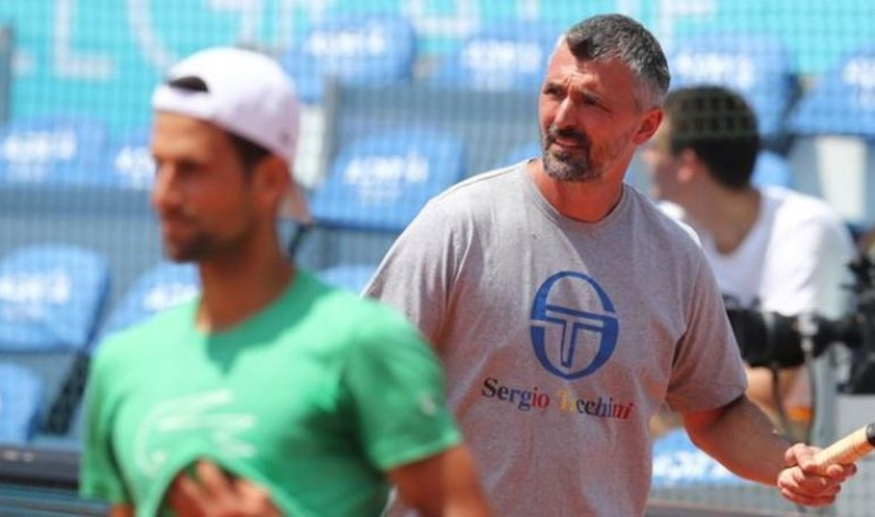 Goran Ivanisevic: Novak Djokovic's coach has coronavirus